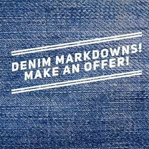 Denim - NEW MARKDOWNS ON JEANS! 👖👖👖